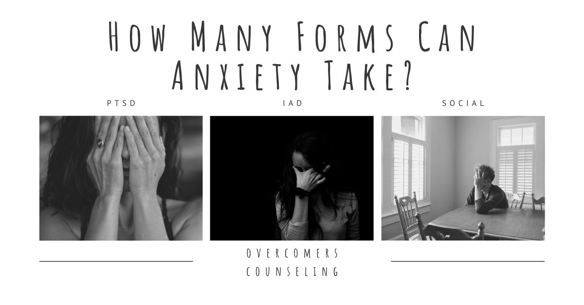 How Many Forms Can Anxiety Take?