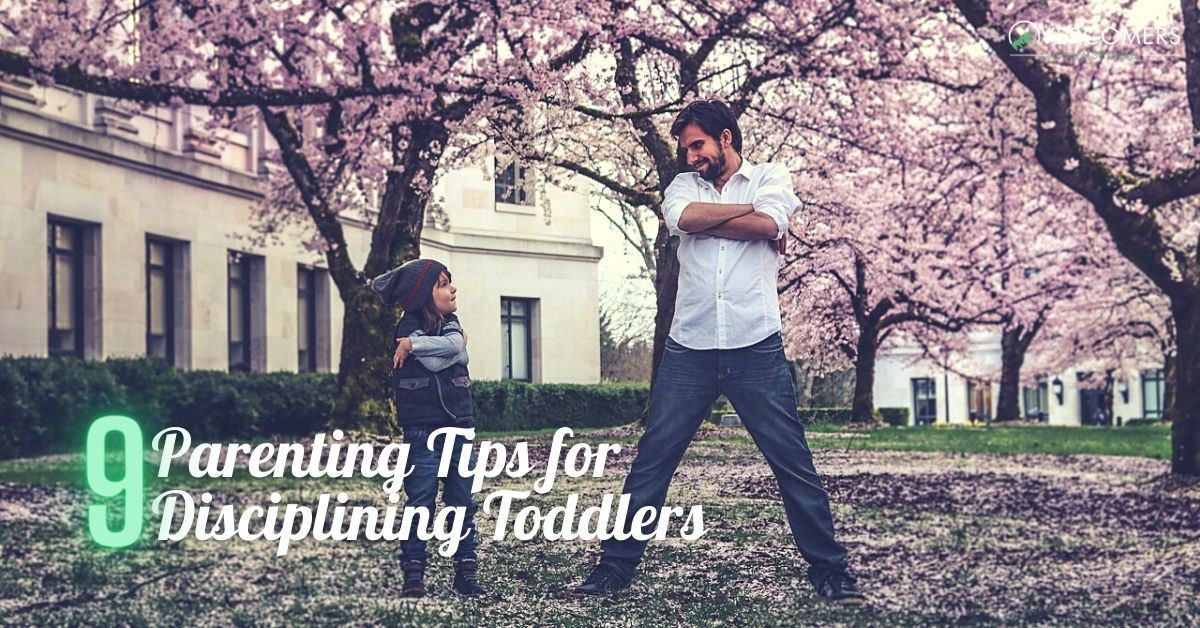 Parenting Tips for Disciplining Toddlers
