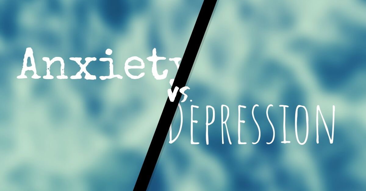 10 Distinct Differences between Anxiety and Depression